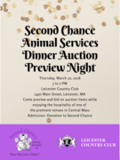 Second Chance's Auction Preview Night & Networking Event
