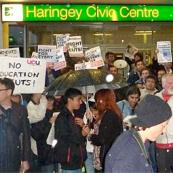 Pinkham Way: Public Hearing at Wood Green Civic Centre