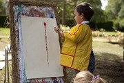 MESSY ART IN THE PARK HALF TERM WORKSHOP