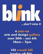 Blink pop up art & design gallery