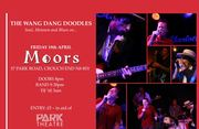 Wang dang doodles Soul concert tonight at Moors Bar