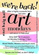Art Mondays return