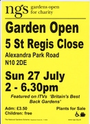 National Gardens Scheme  Event