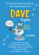 Dave Pigeon Book Launch and free crafts for all the family