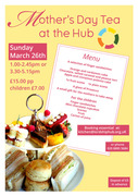 Mother's Day Tea at The Hub