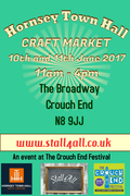 Hornsey Town Hall Craft Event