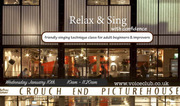 """Relax and Sing"" with confidence - Singing Technique for adults 5/11 week course"
