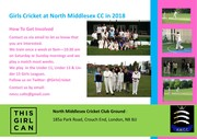 Girls Cricket Practice with Middlesex Women Players