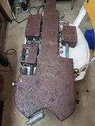 Steampunk lap steel guitar #3