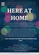 "Cinema Politica Film Presentation: ""Here At Home"""