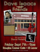 Dave Isaacs & friends - full band show