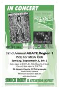 A.B.A.T.E of Indiana MDA Ride - Gretchen Wilson & Flynnville Train