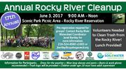 17th Annual Rocky River Cleanup