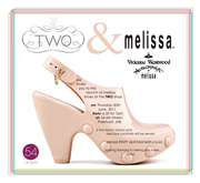 launch of melissa shoes at TWO shop