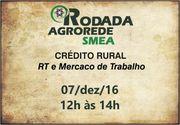 CRÉDITO RURAL | RT E MERCADO DE TRABALHO