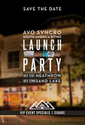 Avo Syncro Ritmo Launch Event - Lake Mary/Heathrow