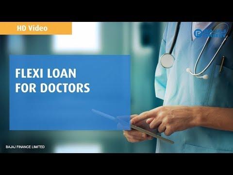 Bajaj Finserv Flexi Loan for Doctors