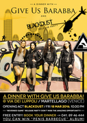 Give Us Barabba + Blackdust RELEASE PARTY
