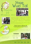 Ostéo danse - Stage de Wuo Tai - Dimanche 10 Novembre 2013