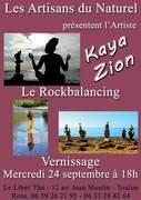 "Exposition ""LeRockbalancing"" - Kaya Zion"
