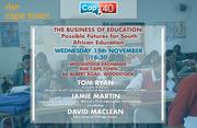 Keynote Speech: The Business of Education