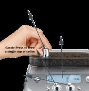 Bravila Grind control Features