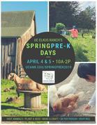 UC Elkus Ranch Spring Preschool Days
