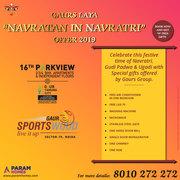 "Gaurs laya ""Navratan in Navratri offer 2019"""