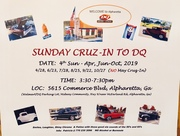 Sunday Cruz-In @ DQ-Alpharetta, Ga