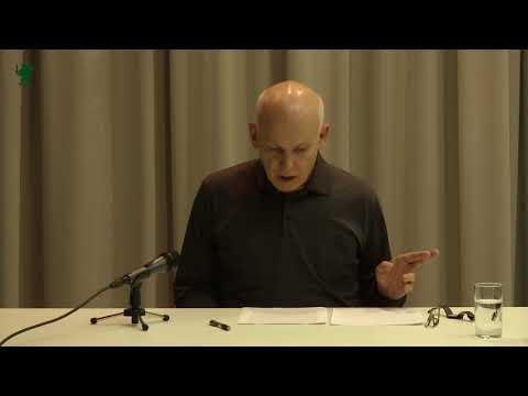 Mladen Dolar. Philosophy and Theater. 2017