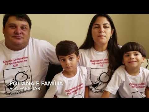 #PorUmaVidaSemELA - Poliana e Família