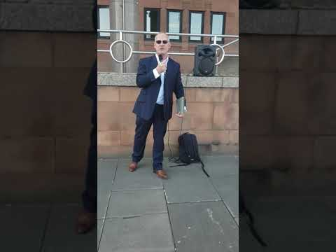 MARK STEELE GATESHEAD HERO AFTER HIS COURT CASE. NEWCASTLE LAW COURTS HANG YOUR HEADS IN SHAME!!!