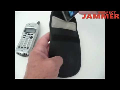 Cell phone storage bag  GSM 3G 4G Cell phone jammer