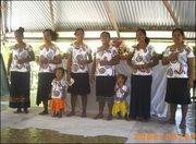 selyn n eliza singing with aunties