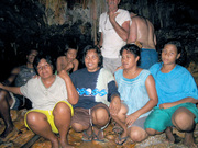 Banaban Women taken inside the Bangabangas 2004