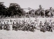 Te Karanga dance preformed on Banaba 1920's
