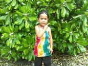 milani my daughter age 4yo in Nauru
