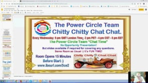 Wow Free Money with the Power Circle Team Chitty Chitty Chat Chat Webinar Replay 27th March 2019