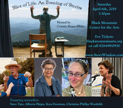 Connie Regan-Blake presents A Slice of Life: An Evening of Stories