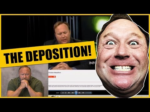 The Alex Jones Deposition EVERYTHING YOU NEED TO KNOW!