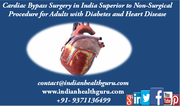 Cardiac Bypass Surgery in India Superior to Non-Surgical Procedure for Adults with Diabetes and Heart Disease