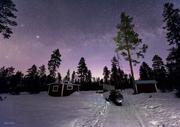 En natt under stjärnhimlen i Gussö