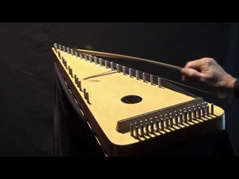 """ALL IN A GARDEN GREEN"" on Bowed Psaltery"