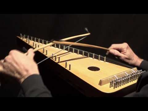 "Hymn Tune ""BUCKLAND"" on Bowed Psaltery"