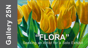 """ART CALL TO ARTISTS AND PHOTOGRAPHERS – For """"FLORA"""" a Solo Exhibition 2019"""