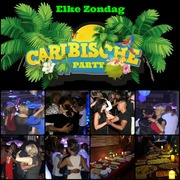 ELKE ZONDAG CARIBBEAN PARTY