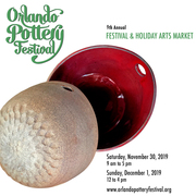 9th Annual Orlando Pottery Festival and Holiday Arts Market