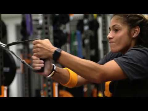 University of Tennessee's Olympic Weight Room