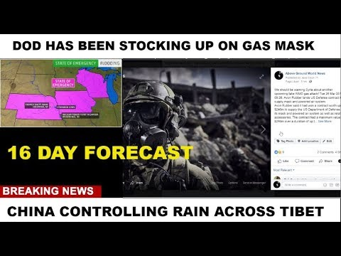 16 DAY FORECAST HEADLINES GAS MASK    #WEATHER WARFARE LIVE!! #ANALYSIS