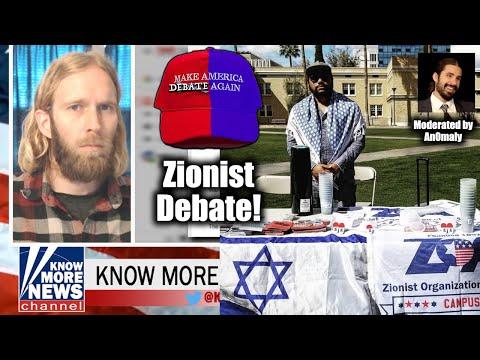 DEBATE: Adam Greens DESTROYS Smug Zionist Incel